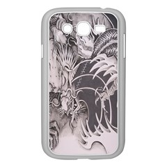 Chinese Dragon Tattoo Samsung Galaxy Grand Duos I9082 Case (white)