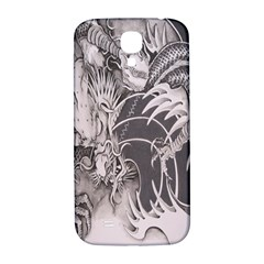 Chinese Dragon Tattoo Samsung Galaxy S4 I9500/i9505  Hardshell Back Case