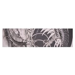 Chinese Dragon Tattoo Satin Scarf (oblong)