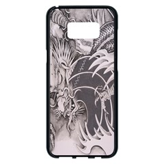 Chinese Dragon Tattoo Samsung Galaxy S8 Plus Black Seamless Case