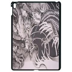 Chinese Dragon Tattoo Apple Ipad Pro 9 7   Black Seamless Case