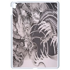 Chinese Dragon Tattoo Apple Ipad Pro 9 7   White Seamless Case