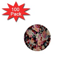 Japanese Ethnic Pattern 1  Mini Buttons (100 Pack)