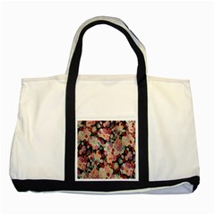 Japanese Ethnic Pattern Two Tone Tote Bag