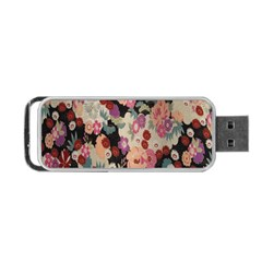 Japanese Ethnic Pattern Portable Usb Flash (one Side)