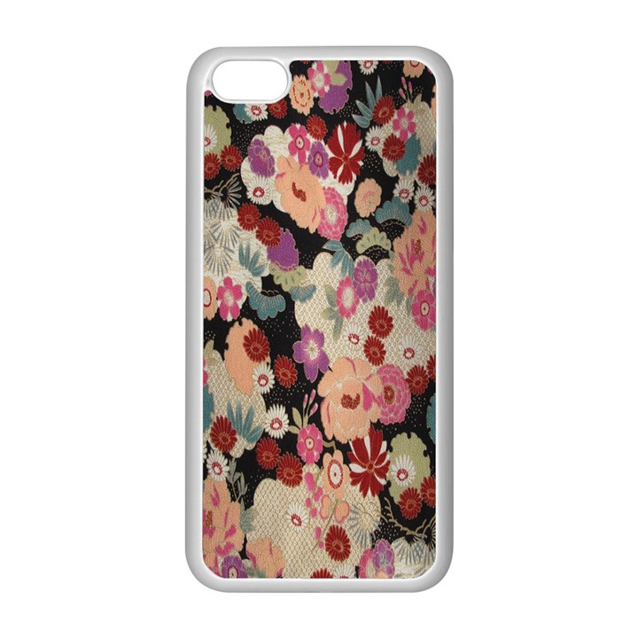 Japanese Ethnic Pattern Apple iPhone 5C Seamless Case (White)
