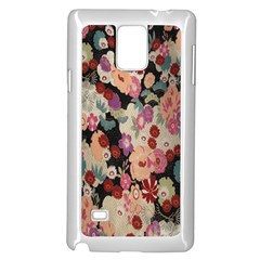 Japanese Ethnic Pattern Samsung Galaxy Note 4 Case (white)