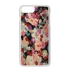 Japanese Ethnic Pattern Apple Iphone 7 Plus White Seamless Case