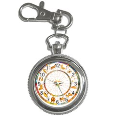 Zodiac  Institute Of Vedic Astrology Key Chain Watches