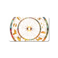 Zodiac  Institute Of Vedic Astrology Magnet (name Card)
