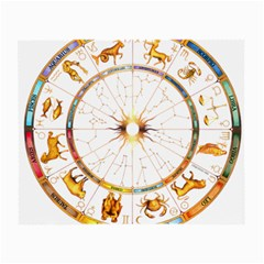 Zodiac  Institute Of Vedic Astrology Small Glasses Cloth