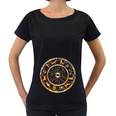 Zodiac  Institute Of Vedic Astrology Women s Loose Fit T Shirt (black)