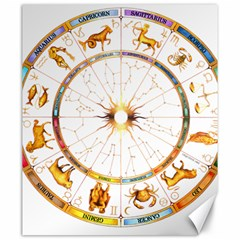 Zodiac  Institute Of Vedic Astrology Canvas 20  X 24