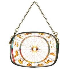 Zodiac  Institute Of Vedic Astrology Chain Purses (two Sides)