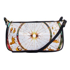 Zodiac  Institute Of Vedic Astrology Shoulder Clutch Bags