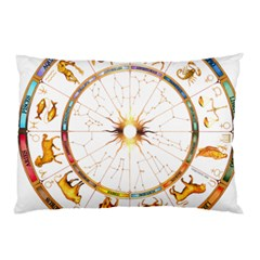 Zodiac  Institute Of Vedic Astrology Pillow Case (two Sides)