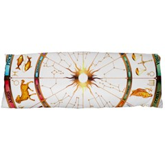 Zodiac  Institute Of Vedic Astrology Body Pillow Case Dakimakura (two Sides)