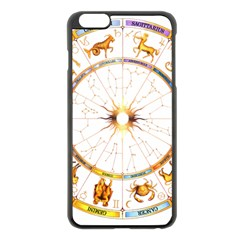 Zodiac  Institute Of Vedic Astrology Apple Iphone 6 Plus/6s Plus Black Enamel Case