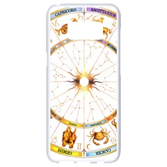 Zodiac  Institute Of Vedic Astrology Samsung Galaxy S8 White Seamless Case