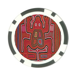 Frog Pattern Poker Chip Card Guard