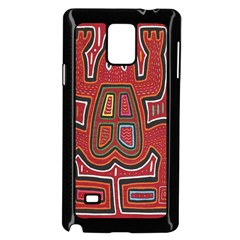Frog Pattern Samsung Galaxy Note 4 Case (black)