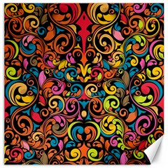 Art Traditional Pattern Canvas 12  X 12