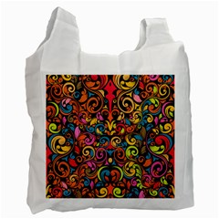 Art Traditional Pattern Recycle Bag (two Side)