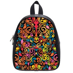 Art Traditional Pattern School Bags (small)
