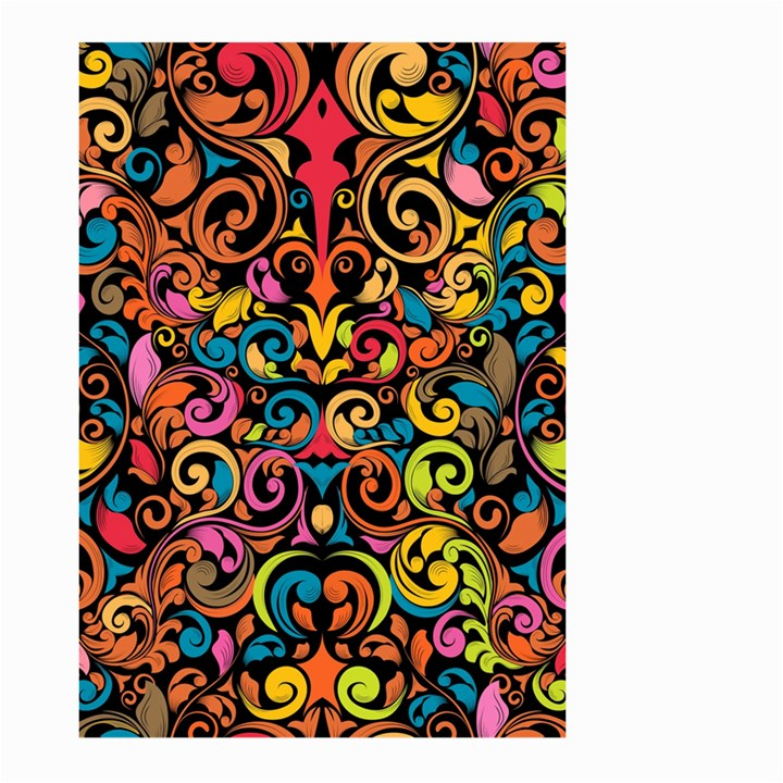 Art Traditional Pattern Large Garden Flag (Two Sides)