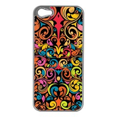 Art Traditional Pattern Apple Iphone 5 Case (silver)