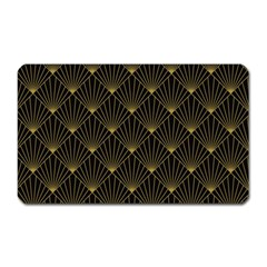 Abstract Stripes Pattern Magnet (rectangular)
