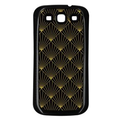 Abstract Stripes Pattern Samsung Galaxy S3 Back Case (black)