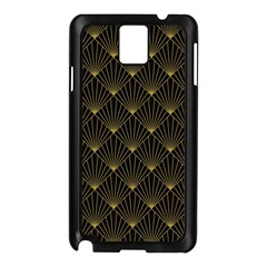 Abstract Stripes Pattern Samsung Galaxy Note 3 N9005 Case (black)