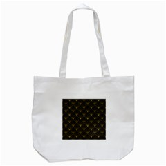 Abstract Stripes Pattern Tote Bag (white)