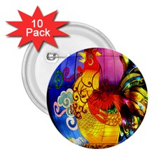 Chinese Zodiac Signs 2 25  Buttons (10 Pack)