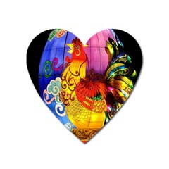 Chinese Zodiac Signs Heart Magnet