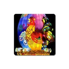 Chinese Zodiac Signs Square Magnet