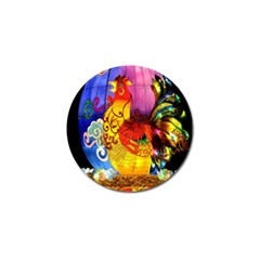 Chinese Zodiac Signs Golf Ball Marker (4 Pack)
