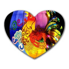 Chinese Zodiac Signs Heart Mousepads