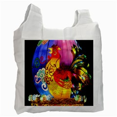 Chinese Zodiac Signs Recycle Bag (two Side)