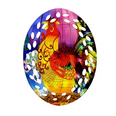 Chinese Zodiac Signs Ornament (oval Filigree)