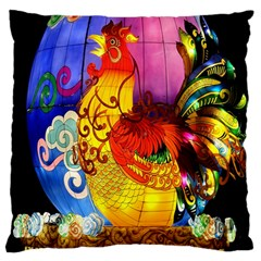 Chinese Zodiac Signs Large Cushion Case (two Sides)