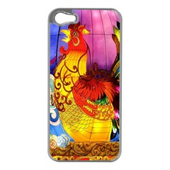 Chinese Zodiac Signs Apple Iphone 5 Case (silver)