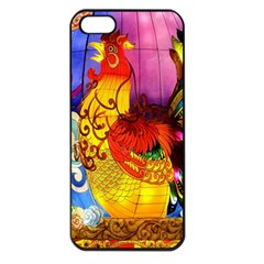 Chinese Zodiac Signs Apple Iphone 5 Seamless Case (black)