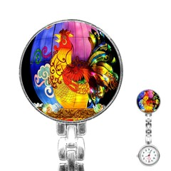Chinese Zodiac Signs Stainless Steel Nurses Watch