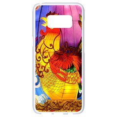 Chinese Zodiac Signs Samsung Galaxy S8 White Seamless Case