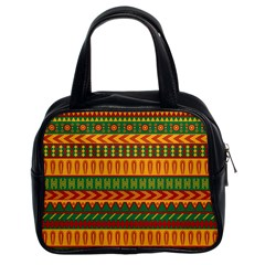 Mexican Pattern Classic Handbags (2 Sides)