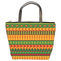 Mexican Pattern Bucket Bags