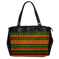 Mexican Pattern Office Handbags