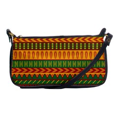 Mexican Pattern Shoulder Clutch Bags
